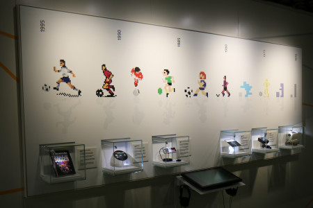 Timeline of the development of football videogames